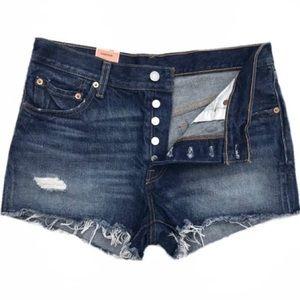 NWT Levi's 501 High Waisted Denim Shorts